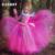 Nueva Primavera De Fantasía Niña Princesa Bella Durmiente Aurora Vestidos de Fiesta de Disfraces Para Niños Para Niñas Niños Niñas Cosplay Vestido de Lujo