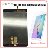 100% New LCD For Samsung Galaxy Tab A 8.0 T350 T355 SM T350 SM T355 LCD display touch screen Panel digitizer assembly