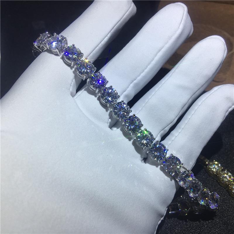 Hot DealsTennis-Bracelet Jewelry Gold Statement Women Fashion Cz-Stone White for 29-Styles Party