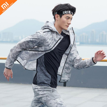 2019 new Xiaomi Mijia men's trend camouflage quick-drying jacket 2 colors for choose suit for men