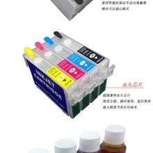 Чернильный T1291-T1294 многоразового использования картридж Подходит для Epson WF7015 WF7515 WF7525 WF3540DTWF(NON-OEM