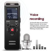 Professional Portable Digital Voice Recorder MP3 Recording Pen 8GB MINI Telephone Dictaphone WAV MP3 Hidden With Built in Mic