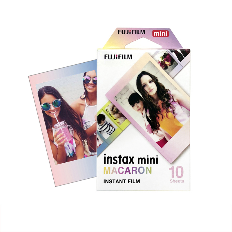 Original Fujifilm MACAROON Instax Mini 8 film (10 sheets) for Polariod mini Camera Instant mini 7s 25 50s 90 SP-1 ...