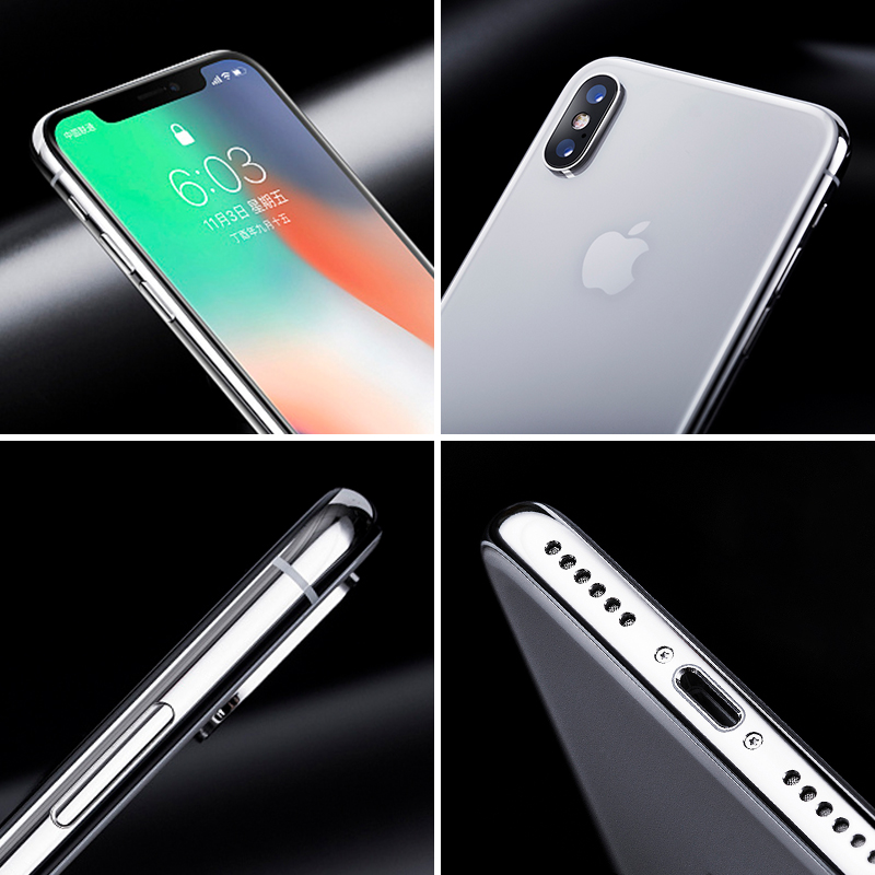 Image 4 - Original Unlocked Apple iPhone X Face ID 64GB/256GB ROM 3GB RAM 5.8 inch Hexa Core iOS A11 12MP Dual Back Camera 4G LTE-in Cellphones from Cellphones & Telecommunications