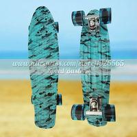 Peny Skateboard Wheels Longboard 22 Retro Mini Skate Trucks Deskorolka Fish Skateboard Plastic Complete Tablas De