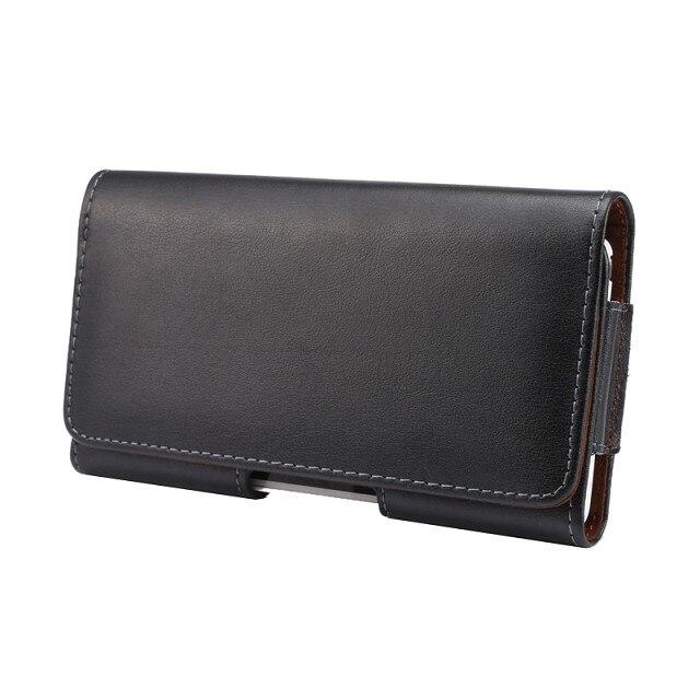 """imágenes para 2 estilos de nuevo teléfono celular de cubierta de la correa clip case genuino Bolso de La Cintura de cuero Funda para Sony Xperia Z1 Compacto D5503 4.3 """"case"""