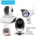 Home Câmera IP Sem Fio WiFi Conectar Combinação 720 P de Visão Noturna de Segurança Inteligente IP Cam CCTV Suporte 64G SD cartão