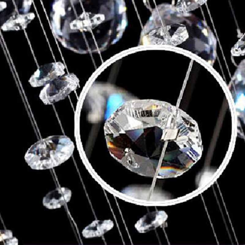 Free shipping new Modern Crystal Chandelier Light Fixture Crystal Pendant Ceiling Lamp Luster Prompt Shipping 100% Guarantee