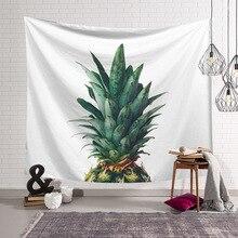 Cactus Wall Hanging Tapestry Green Succulents Pineapple Art Carpet Blanket Yoga Mat mandala Decorative beach table cover tapiz