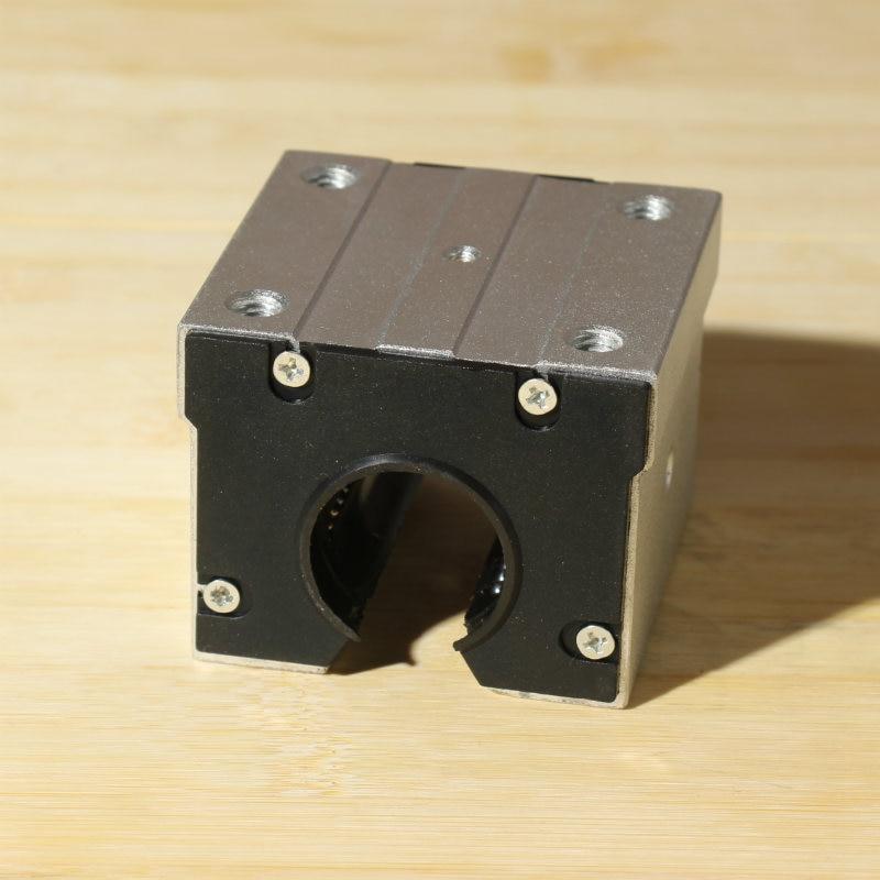 1pc SBR25UU aluminum block 25mm Linear motion ball bearing slide block for SBR25 Linear guide scs25uu lm25uu 25mm dia linear motion ball bearing slide unit
