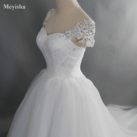 ZJ9029 2019 2020 New Beads Crystal Sweetheart off Shoulder Lace White Wedding Dresses for brides plus size maxi size