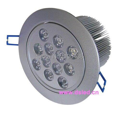 Бесплатная Доставка компанией DHL! CE, хорошее качество 12 Вт светодиодный светильник, утопила свет, 110-250VAC с LED Driver, DS-CSL-8-12W