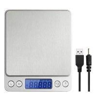Питание от USB цифровой Кухня весы 3 кг 0,1 г многофункциональный Еда весы для выпечка бытовой весят электронные весы