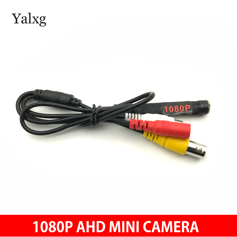 Yalxg HD 1080P AHD Mini 1920*1080 Kit Wired CCTV Camera System Smallest Surveillance Home Security Camera With 10PCS 940NM Led