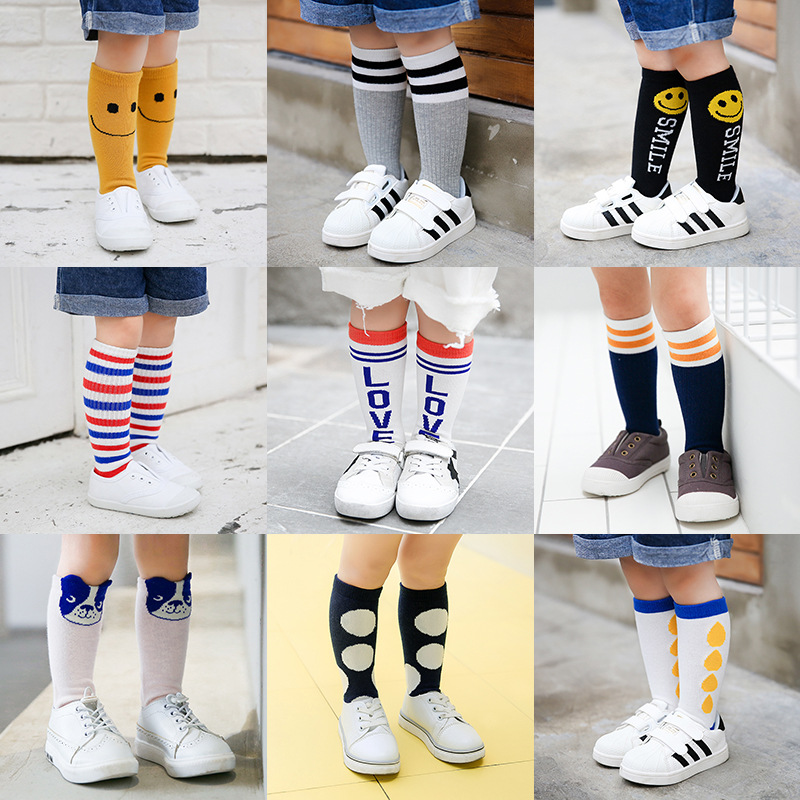 1-PAIR-Cute-Animals-Cotton-knee-high-socks-spring-fall-leg-warmers-baby-socks-cute-boys-girls-kids-socks-anti-slip-Infantil-Sock-1