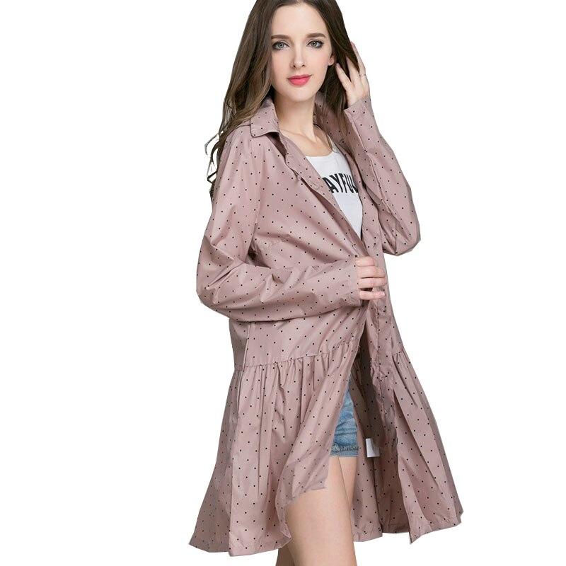 Long Women Raincoat Rain Coat Women's Rainwear Windbreaker Ladies Rain Coat Poncho Riding Clothes Hooded Womens Raincoat WZP210