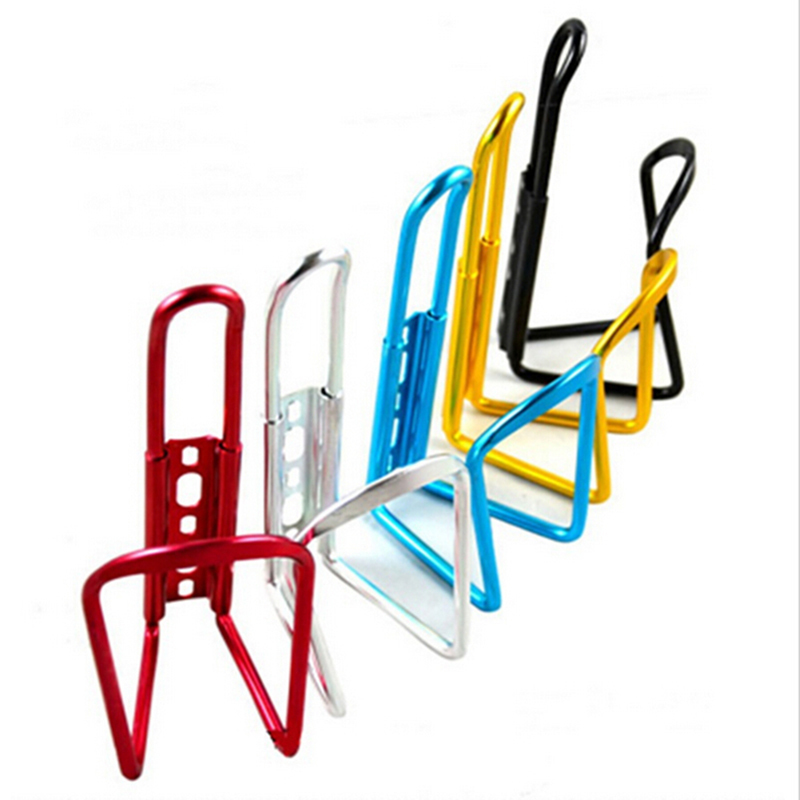 1 X ALUMINUM ALLOY BIKE BICYCLE CYCLING DRINK WATER BOTTLE RACK HOLDER CAGE