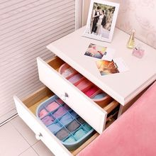3pcs/set Underwear Bra Socks Storage Box