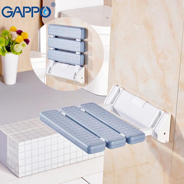 GAPPO Wall Mounted Shower Seat bathroom shower folding seat ...