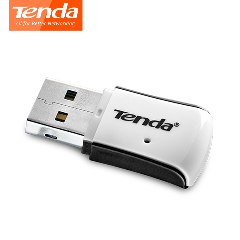 Tenda W311M Mini Wireless USB WiFi Adapter, 150Mbps Portable Wireless Network Card, USB 2.0 External Wireless Wi-fi Receiver