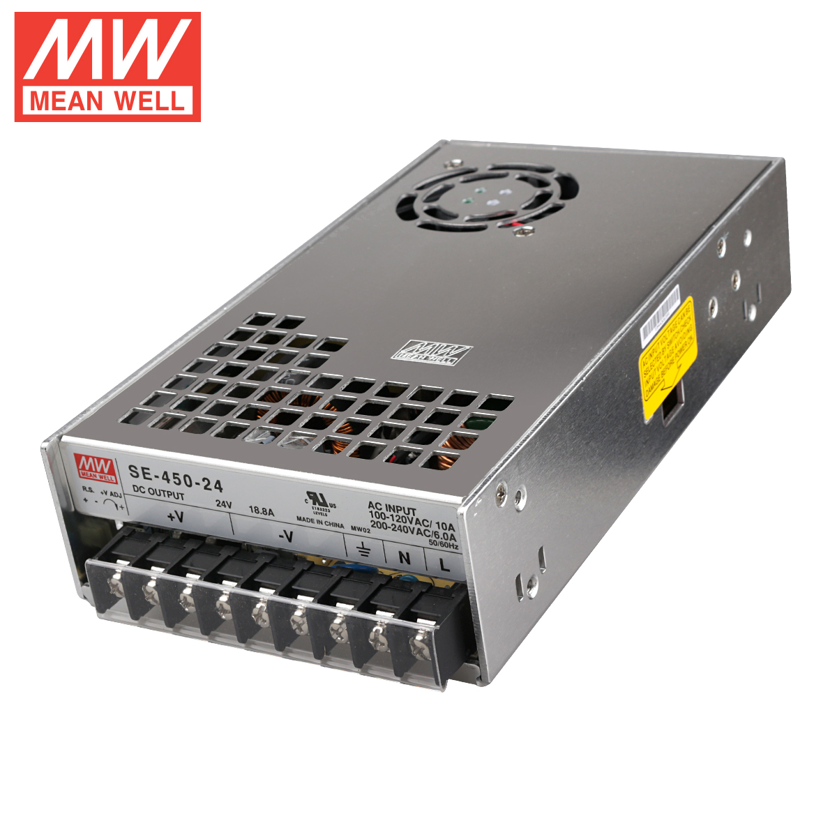 BLV MGN Cube 3d printer good quality power supply Geniune Meanwell PSU SE-450-24 24V18.8A 450W