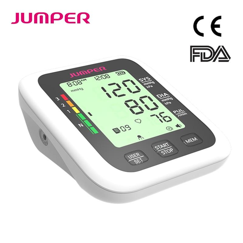 Portable Digital Upper Arm Blood Pressure Monitor Heartbeat test Health care monitor Cuff Tonometer