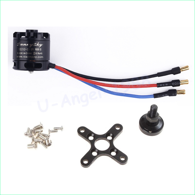 1pcs 100% Original SUNNYSKY X2212 980KV KV1400/1250/2450  Brushless Motor (Short shaft )Quad-Hexa copter  Wholesale Promotion