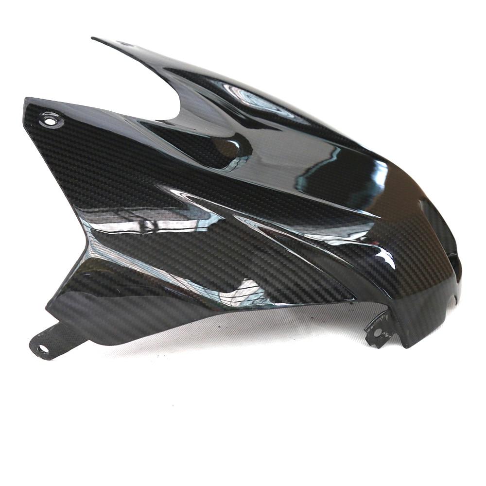 Мотоцикл из углеродного волокна Верхний передний бак Защита Крышка обтекатель Аксессуары для BMW S1000RR 2015 2016 2017 S1000R 2014 с 1000 рублей