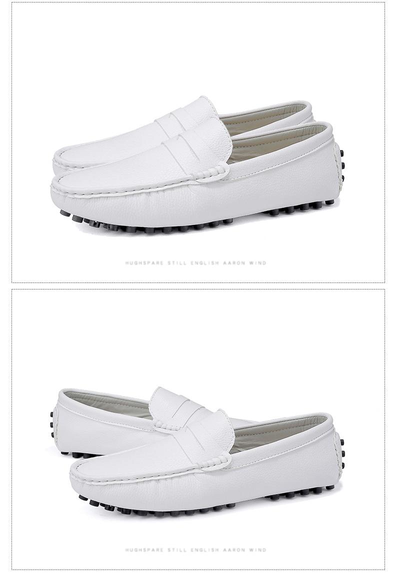 HTB1Dd9patzvK1RkSnfoq6zMwVXaM DEKABR Size 49 Men Casual Shoes Fashion Men Shoes Genuine Leather Men Loafers Moccasins Slip On Men's Flats Male Driving Shoes