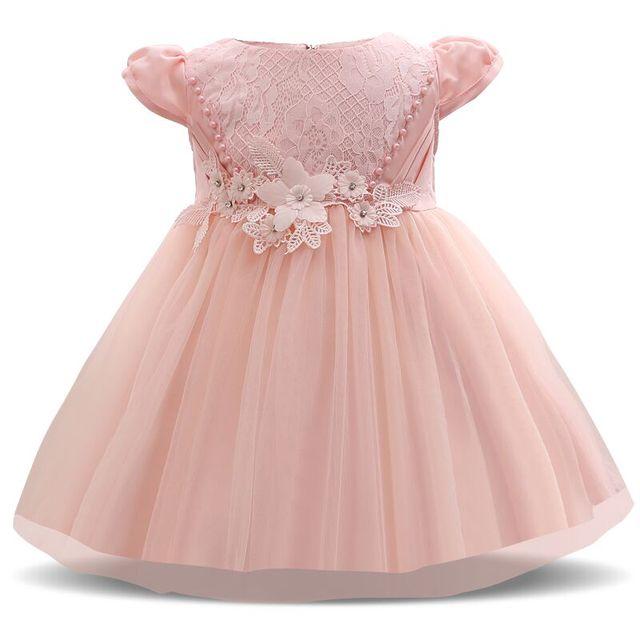 Baby Mädchen Prinzessin Taufe Partei Kleid Kleider für Mädchen ...