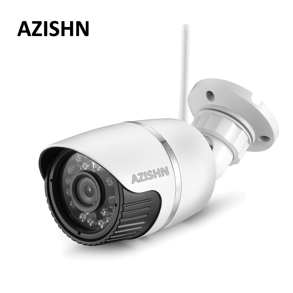AZISHN Yoosee Wifi ONVIF 720P 960P 1080P IP Camera Wireless Wired P2P CCTV Outdoor Bullet Camera 24IR Motion Detect SD Card Slot azishn wifi ip camera 1080p 960p 720p wireless wired onvif p2p alarm 24ir security cctv outdoor camera with sd card slot max 64g