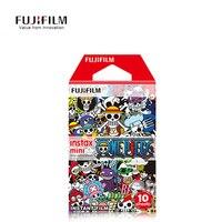 One Piece 10 Sheet Film Fuji Camera Paper Fujifilm Instax Mini 8 Cartoon Anime Poto Instant Mini 8 7s 25 50s 90 New 35mm Films
