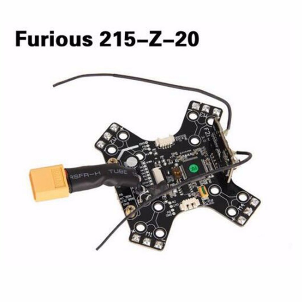Walkera Furious 215-Z-20 Main Board with OSD & Receiver for Walkera Furious 215 FPV Racing Drone Quadcopter original walkera devo f12e fpv 12ch rc transimitter 5 8g 32ch telemetry with lcd screen for walkera tali h500 muticopter drone