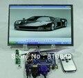 HDMI + VGA + av + Аудио панель Управления vs-ty2668-v1 + 10.1 дюймовый 1280*800 + Пульт Дистанционного B101EW05 HSD101PWW1 B101EVN02