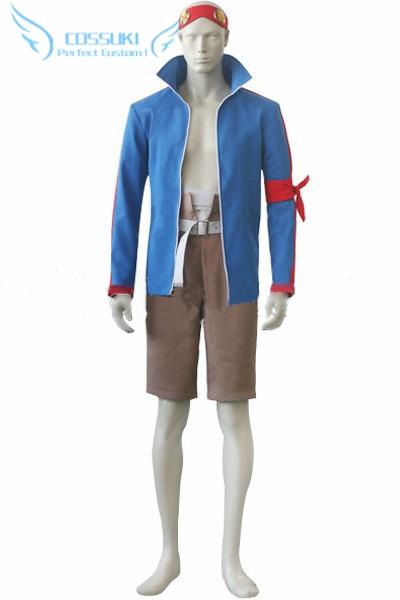 Gurren Lagann Simon Uniform Cosplay Costume ,Perfect Custom For You !