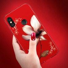 Diamante Bling lujo teléfono caso para Xiao mi Redmi 6 6A 5 Plus S2 5A Nota 5 6 Pro 4 4X4 mi 8 A2 lite 6X A1 5X Pocophone F1 cubierta