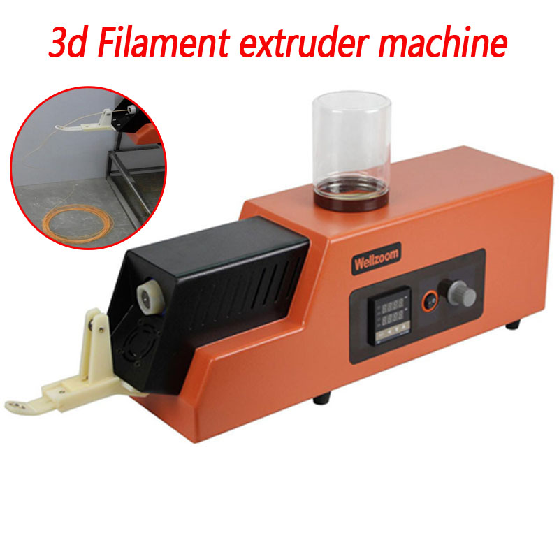 3d Filament Extruder Machine / 3d Filament Maker Desktop 3D Printing Consumables Extruder 1.75mm 3mm Speed Adjustable REX-C100