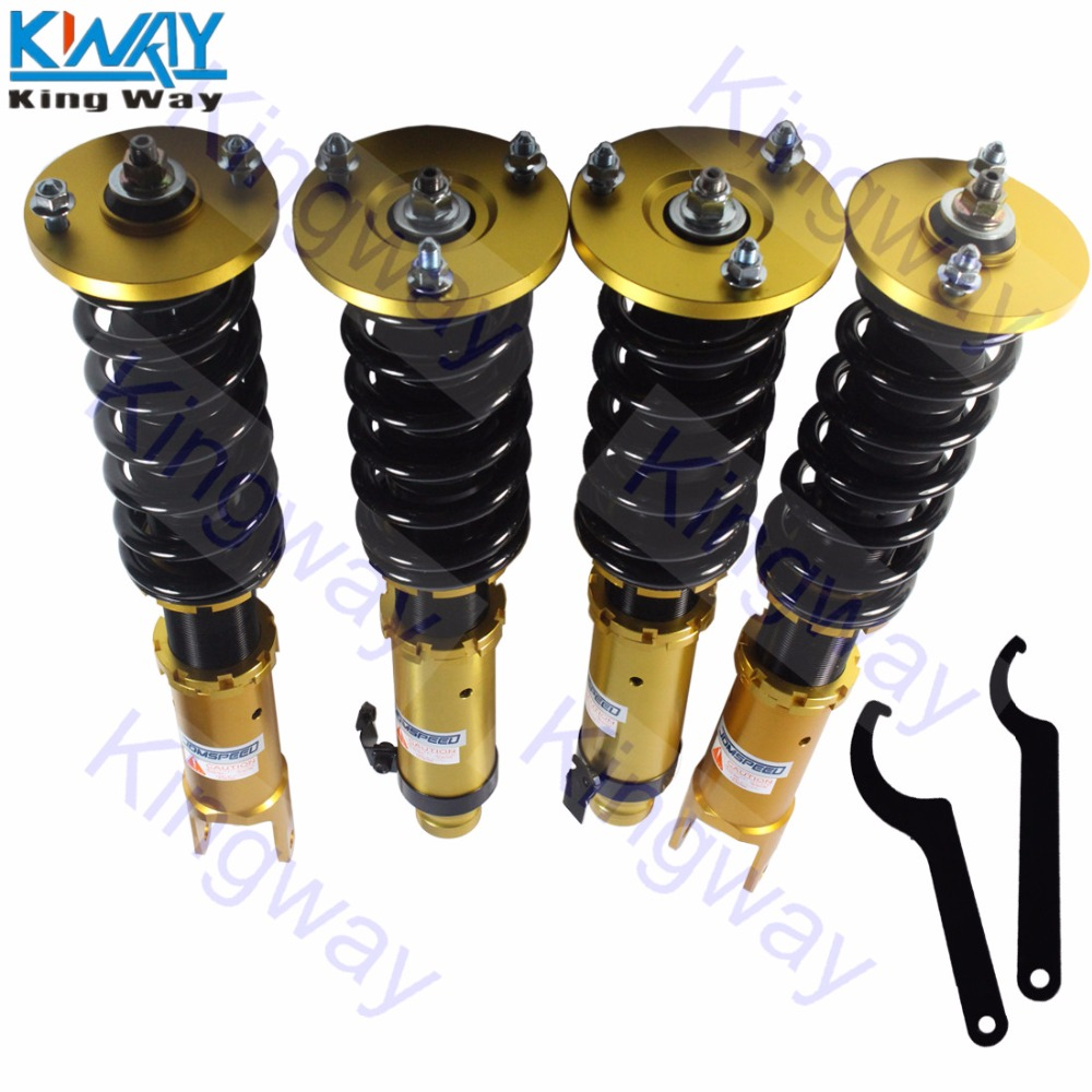 Coilover Lowering Coil Springs Kit for 98-02 Honda Accord 4 Door//Coupe Black