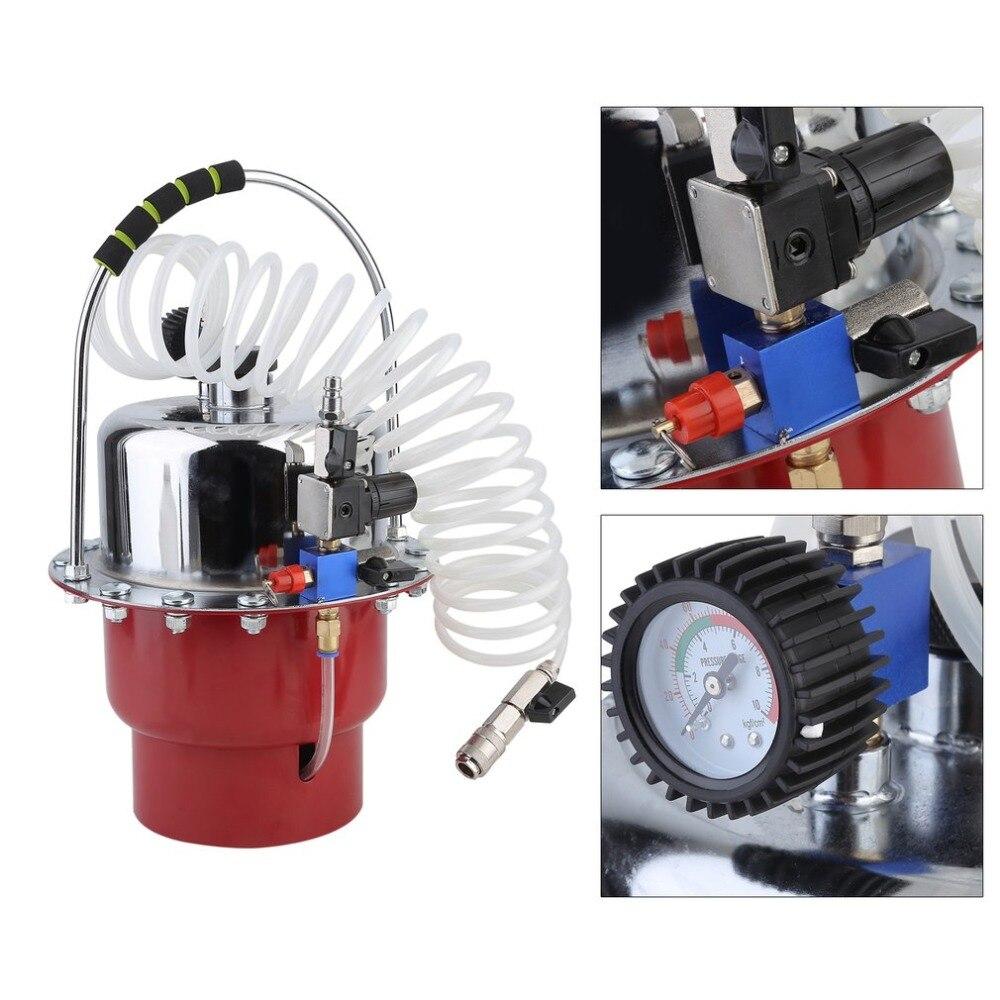 Car Brake Fluid Exchanger 5L Auto Repair Tools Pneumatic Pressure Bleeder Set Professional Brake Clutch System Device for Car