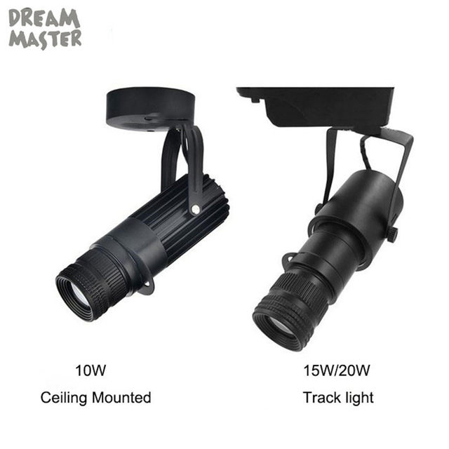 Theater Stage Zoom Spotlights led spotlights projection zoom in out adjustable focus track lights Industrial Logo lighting l&  sc 1 st  Aliexpress & Online Shop Theater Stage Zoom Spotlights led spotlights projection ...