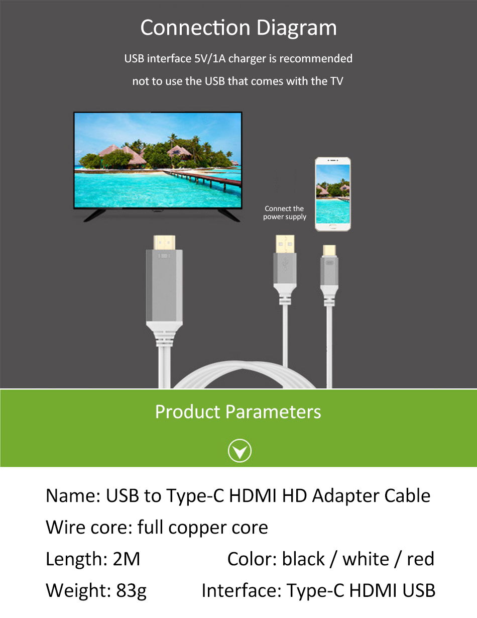 Usb C Type To Hdmi 2 In 1 Hd 4 K Video Audio Charging Cable Wiring Diagram For 04 404343150166439942 538045063161664826 907936871002547849