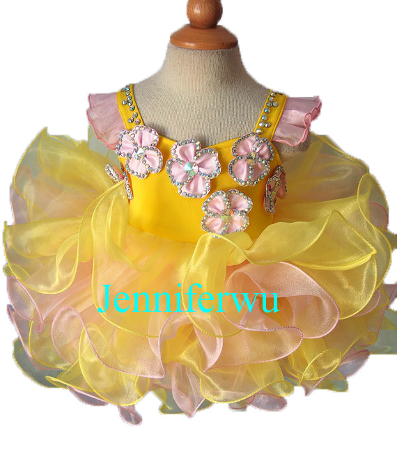 yellow girl baby dresses  baby dresses girl  and girl clothes  prom dresses  G127B