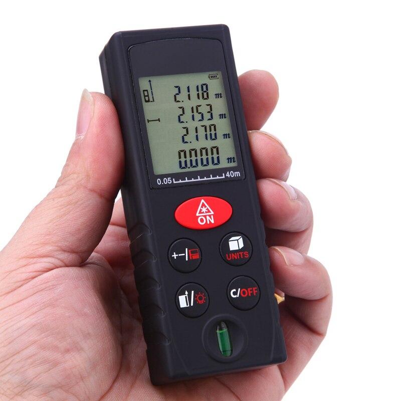 40M /60M/80M/100M Handheld Rangefinder Laser Distance Meter Digital Range Finder Tape Measure Tester