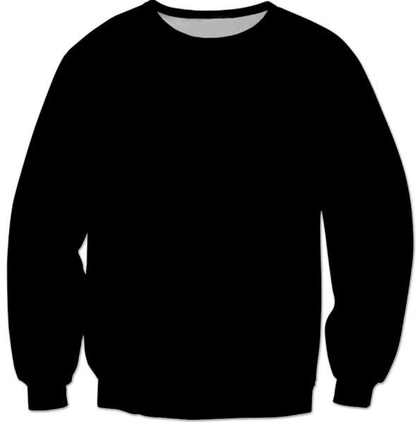 New Arrive Style Just a plain black sweatshirt Crewneck O-Neck Sexy Pure  color Pullover Outerwear Jersey White Pink Gray Black 5acc6c9a12d8