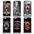 Five finger death punch cubierta case para el iphone 4s 5s se 6 s 7 plus samsung s5 s6 s7 edge note 4 5 j2 j5 j7 grand prime neo