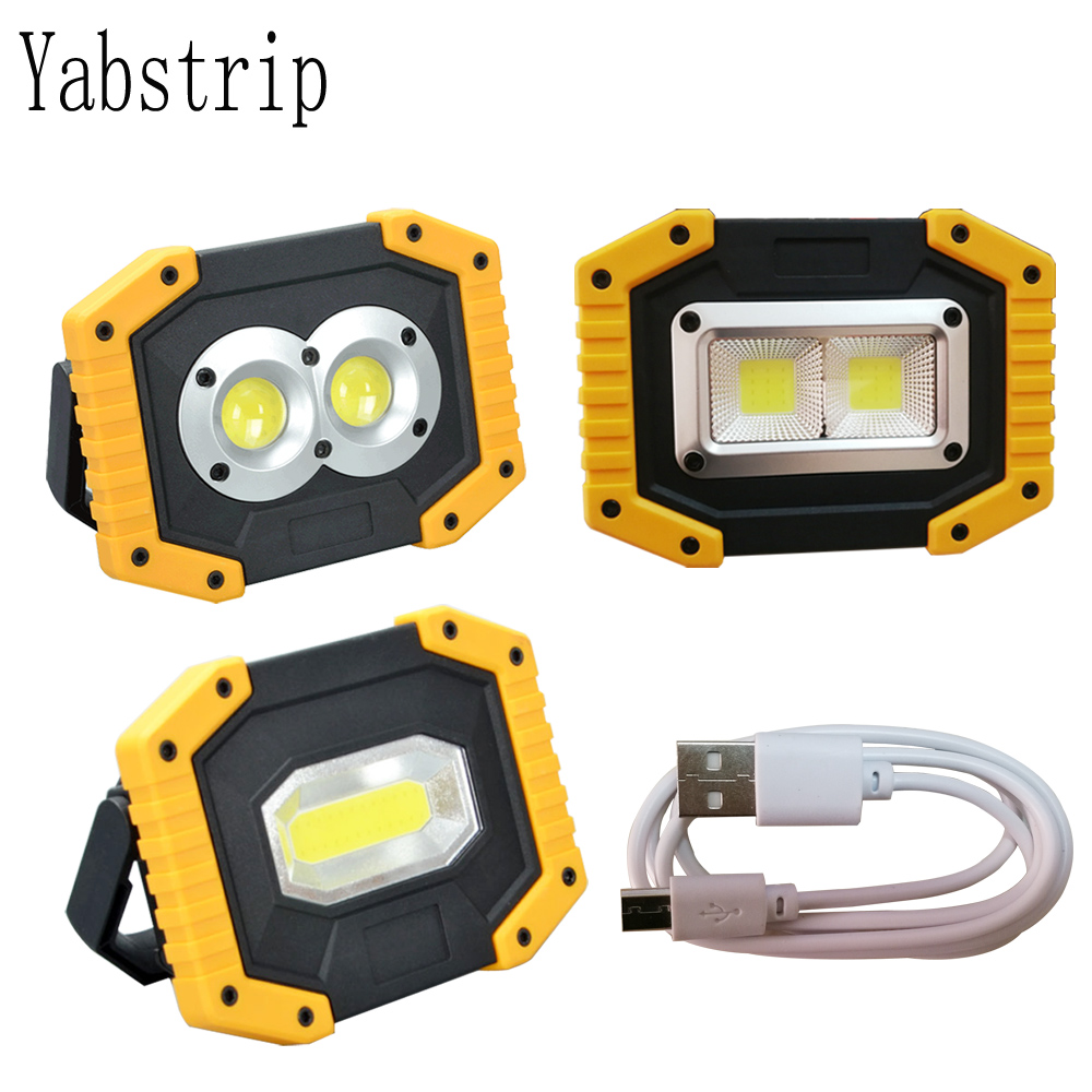 Led Portable Spotlight Rechargeable 18650 Battery Outdoor searchlight Work Light Lamp For Hunting Camping COB led FlashlightLed Portable Spotlight Rechargeable 18650 Battery Outdoor searchlight Work Light Lamp For Hunting Camping COB led Flashlight
