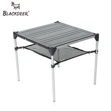 BLACKDEER Portable Folding Table Camping Hiking Desk Traveling Outdoor Picnic Aluminium Alloy Foldable Ultra-light цены