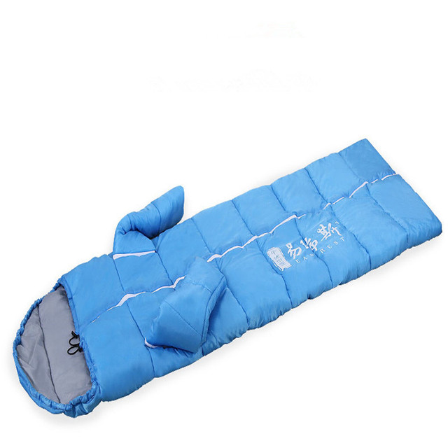Outdoor Sleeping Bag With Removable Sleeves Waterproof Winter Bags 113
