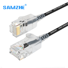 SAMZHE Cat6A Ultrafine Ethernet Patch Cable – Slim RJ45 Computer,PS2,PS3,XBox Networking LAN Cords 0.5m 1m 1.5m 2m 3m 5m 8m 10m