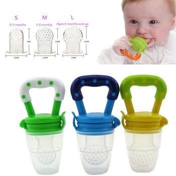 Momy And Angel Safe Baby Bottles Size S-M-L 4 Colors Nipple Fresh Food Milk Nibbler Feeder Feeding Tool For Children 's Day Gift